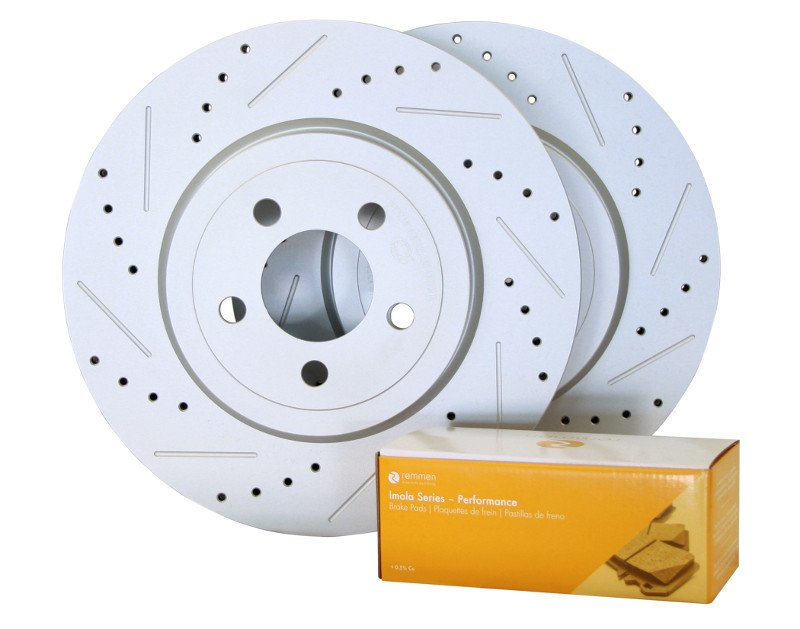 2005-2009 Subaru Outback Brake Kit (Performance, XD and Slotted Rotors) -  Rear - Remmen Brakes
